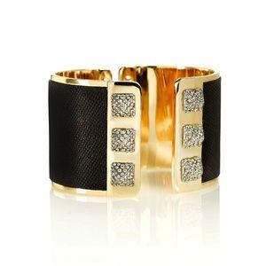 Henri Bendel Metropolitan Pave Cuff Bracelet